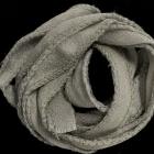 Chiffonband grau 10 mm