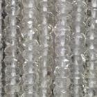 Facettierte Linsen Bergkristall ca. 40 cm