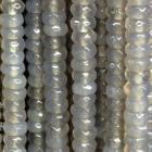 facettierte Linsen Achat ca. 40 cm