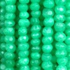facettierte Linsen Achat gefärbt ca. 40 cm