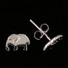 KS11 Elefant Silber rhodiniert 6x8 mm