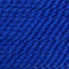 Naturseide dunkelblau