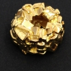 N1 Silber vergoldet poliert